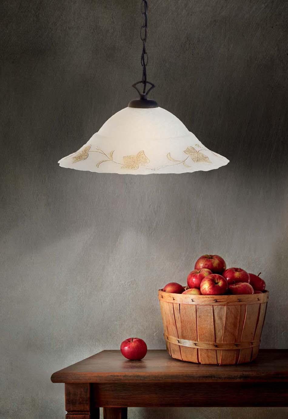Lampade 52 sospese vintage Ideal Lux Foglia – Toscana Arredamenti