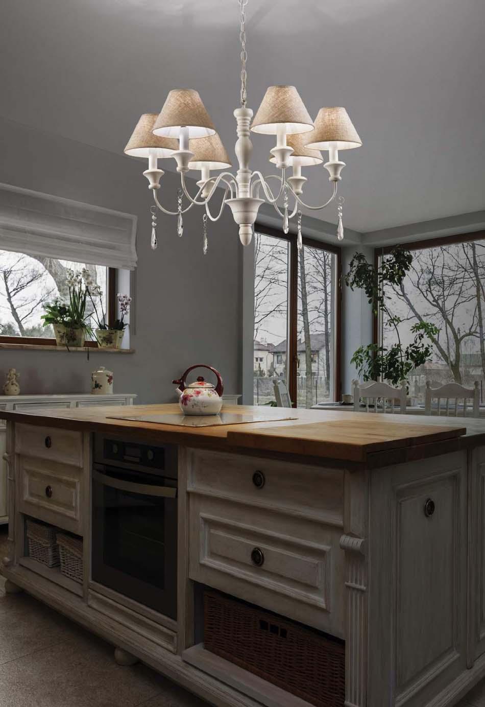 Lampade 58 sospese vintage Ideal Lux Provence – Toscana Arredamenti