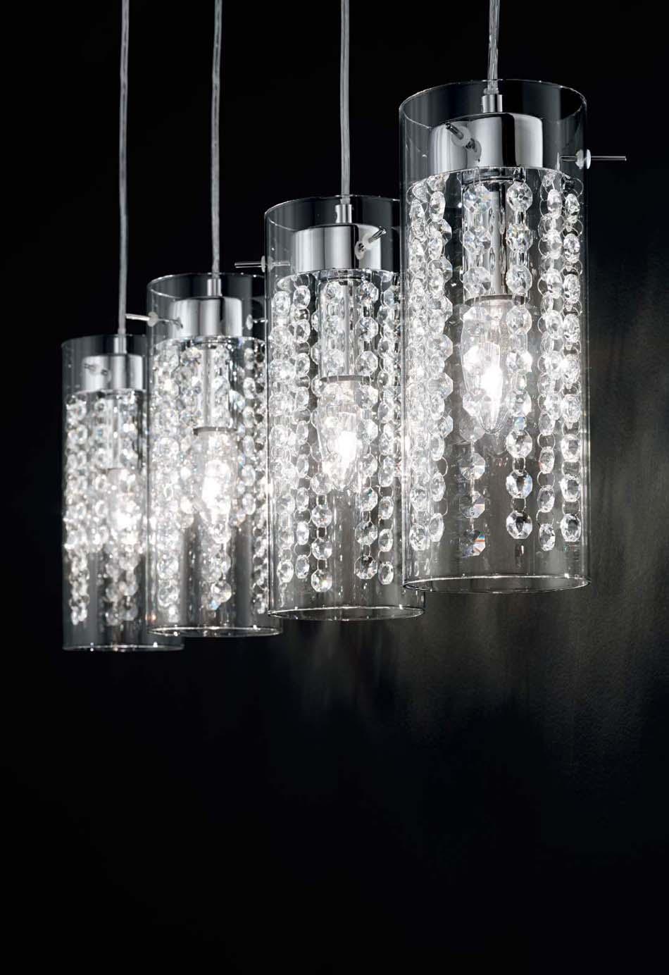 Lampade 59 sospese Ideal Lux Iguazu – Toscana Arredamenti