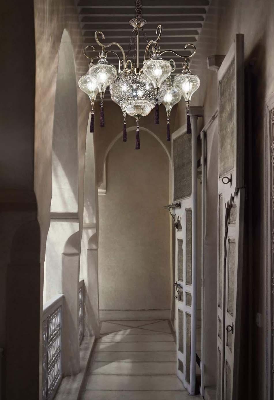 Lampade 64 sospese vintage Ideal Lux Harem – Toscana Arredamenti