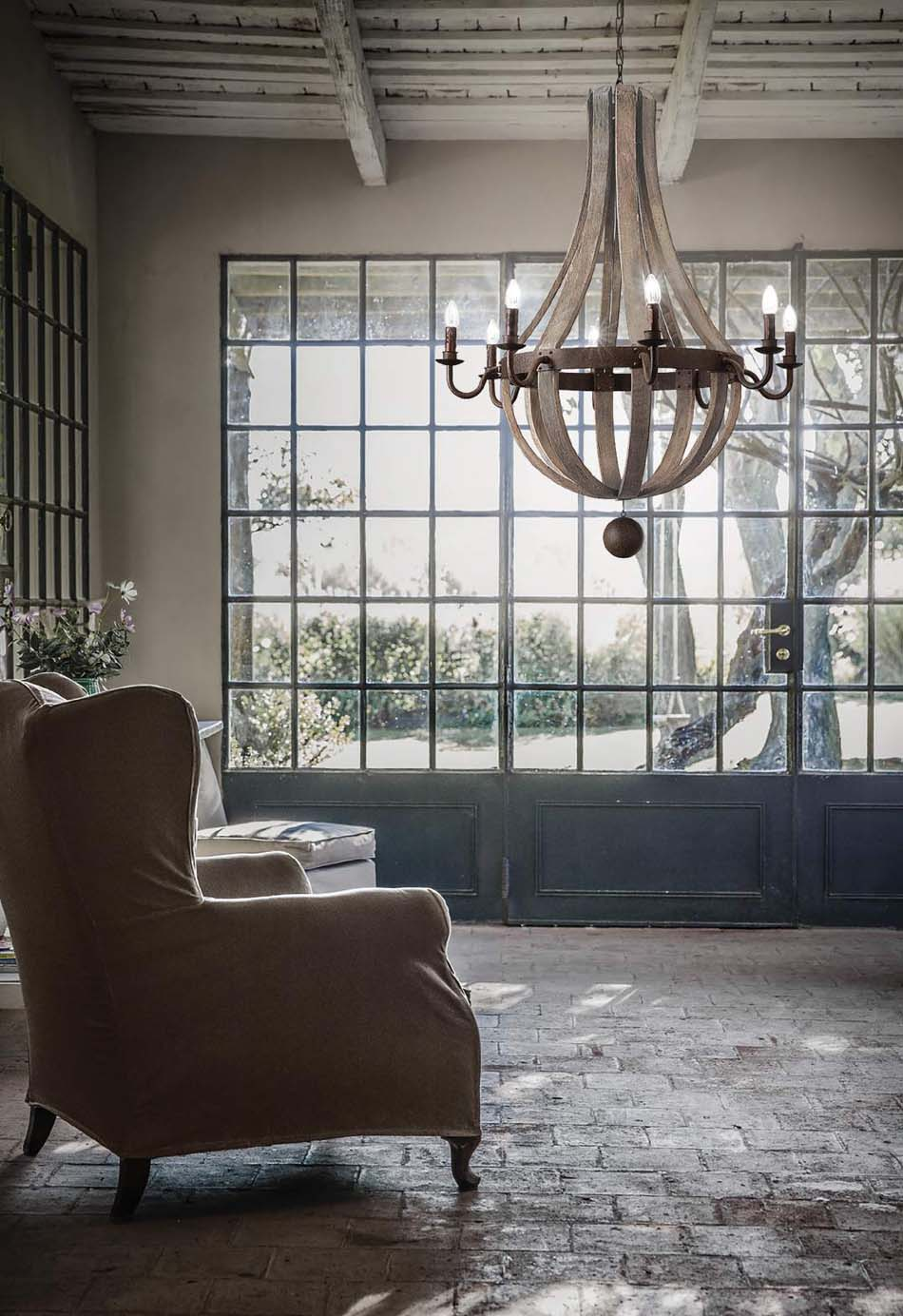 Lampade 65 sospese vintage Ideal Lux Millennium – Toscana Arredamenti
