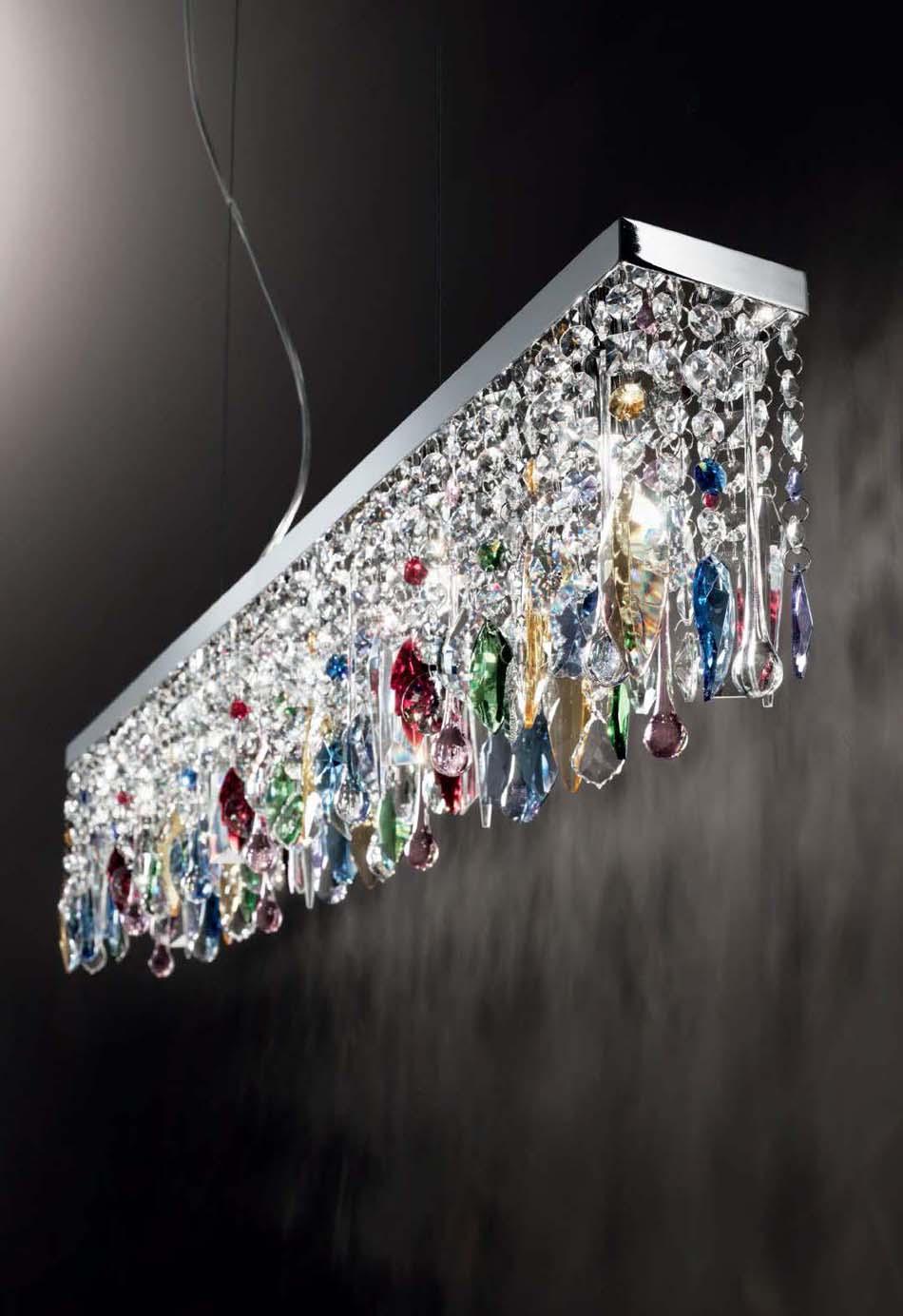 Lampade sospese Ideal Lux Giada Color – Toscana Arredamenti