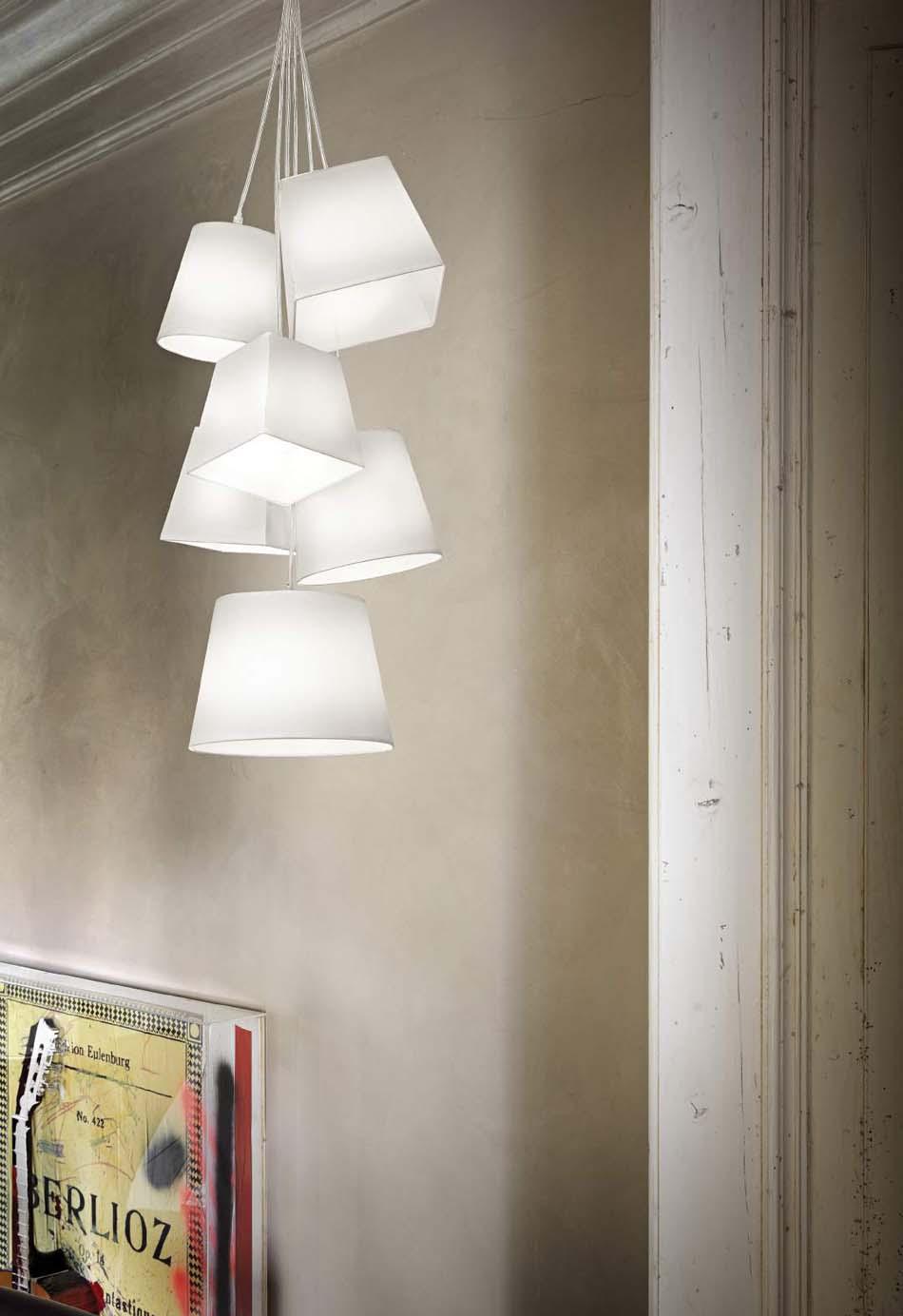 Lampade sospese Ideal Lux Hats – Toscana Arredamenti