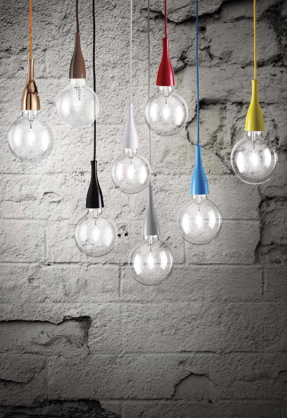 Lampade sospese Ideal Lux Minimal – Toscana Arredamenti