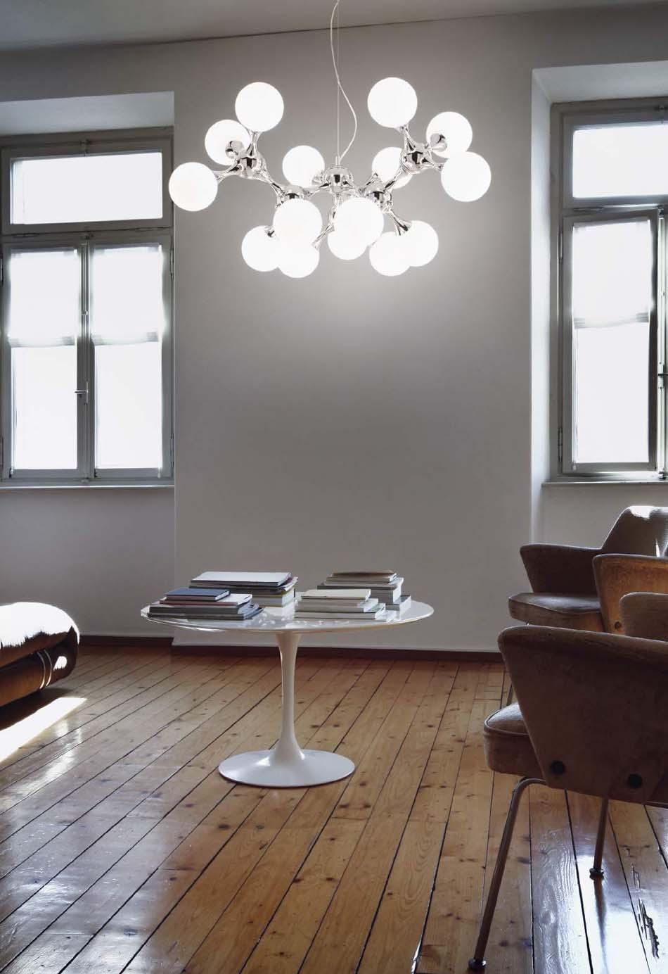 Lampade sospese Ideal Lux Nodi Bianco – Toscana Arredamenti