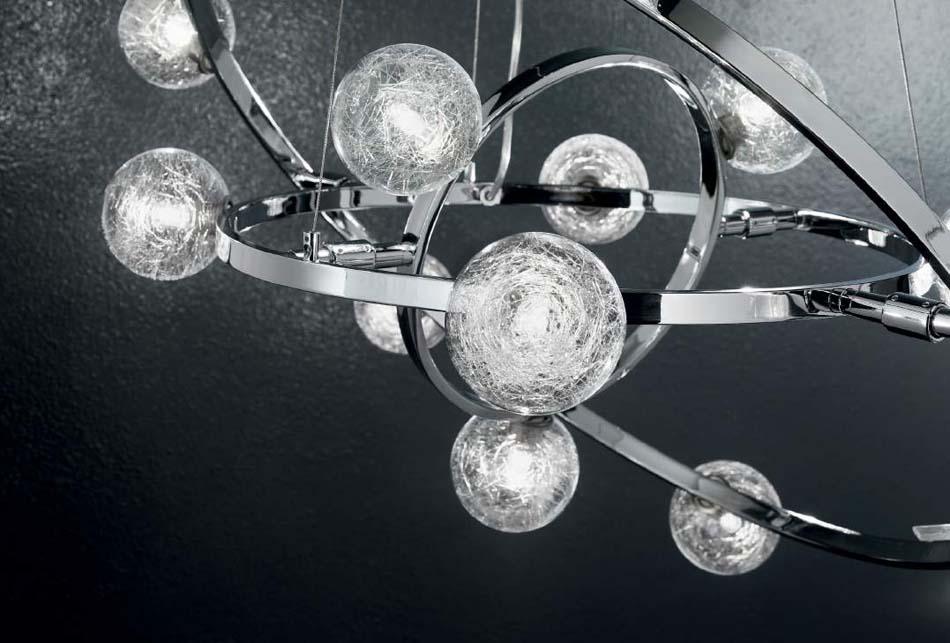 Lampade sospese Ideal Lux Orbital – Toscana Arredamenti