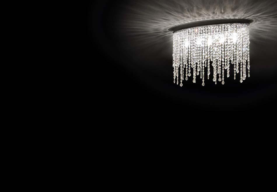 Lampade sospese Ideal Lux Rain Clear – Toscana Arredamenti