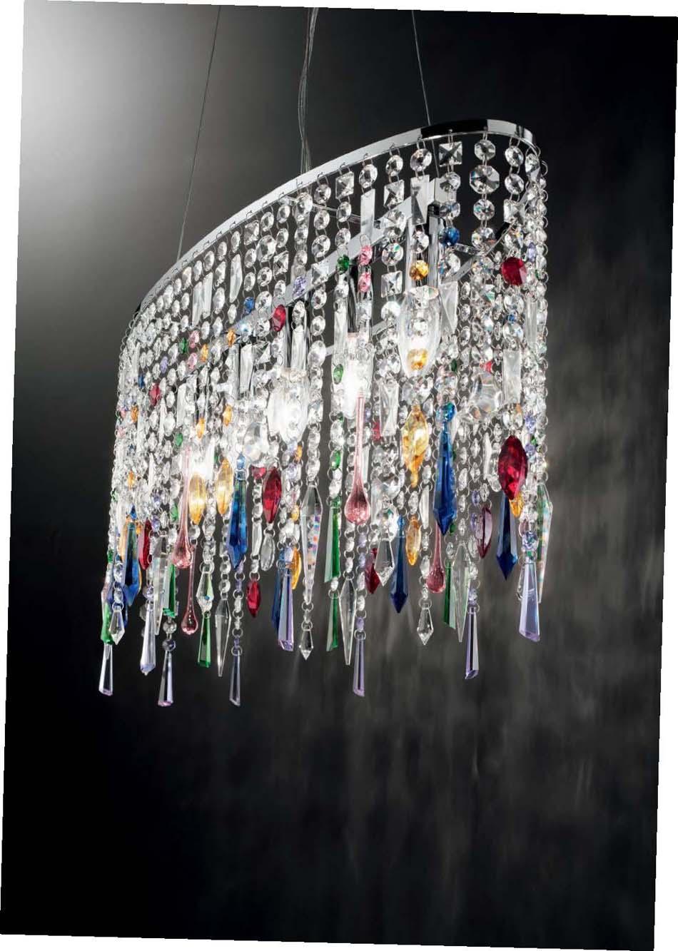 Lampade sospese Ideal Lux Rain Color – Toscana Arredamenti