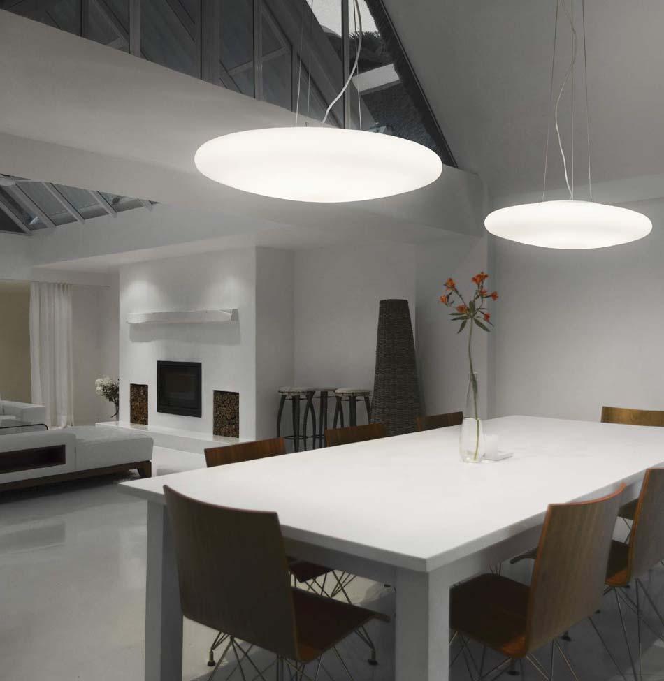 Lampade sospese Ideal Lux Smarties Bianco – Toscana Arredamenti