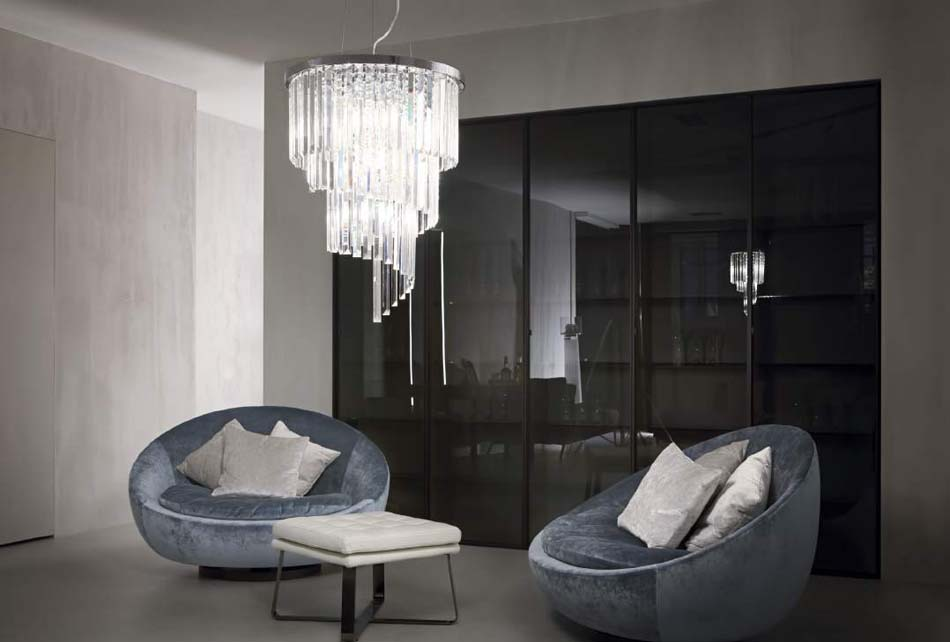 Lampade sospese Ideal Lux carlton – Toscana Arredamenti