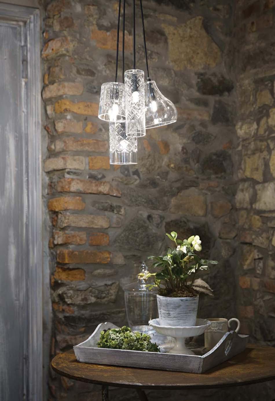 Lampade sospese Ideal Lux cognac – Toscana Arredamenti
