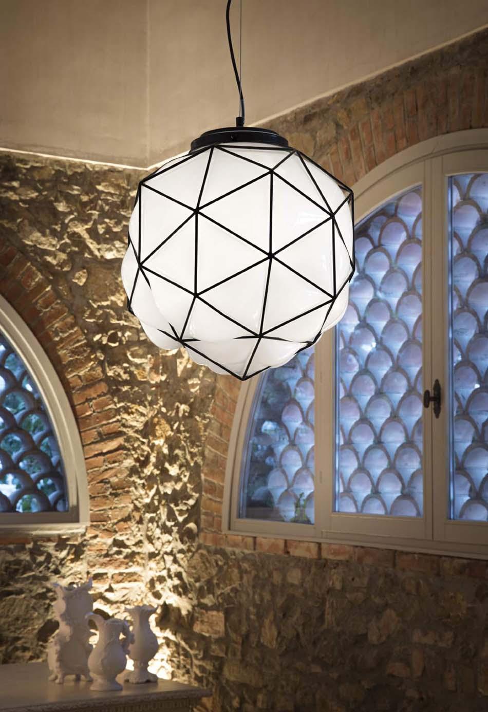 Lampade sospese Ideal Lux maglie – Toscana Arredamenti