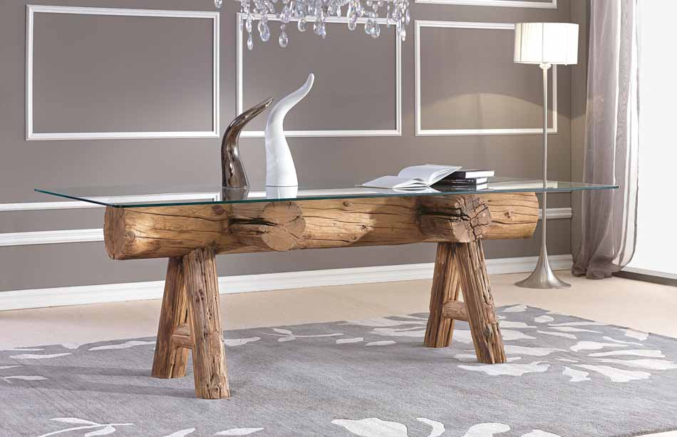 Nature Design 00 Tavoli Log – Toscana Arredamenti