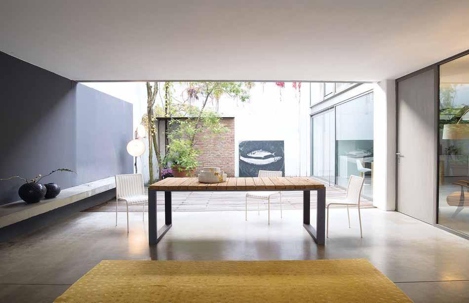 Nature Design 10 Tavoli Slat – Toscana Arredamenti