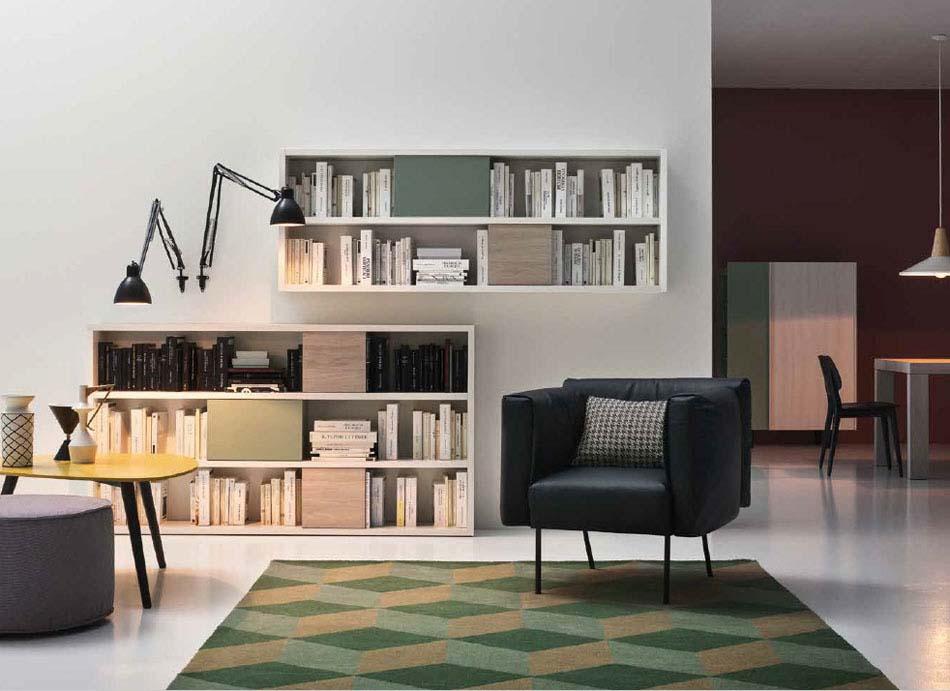 Novamobili Librerie Moderne Componibili – Toscana Arredamenti – 122
