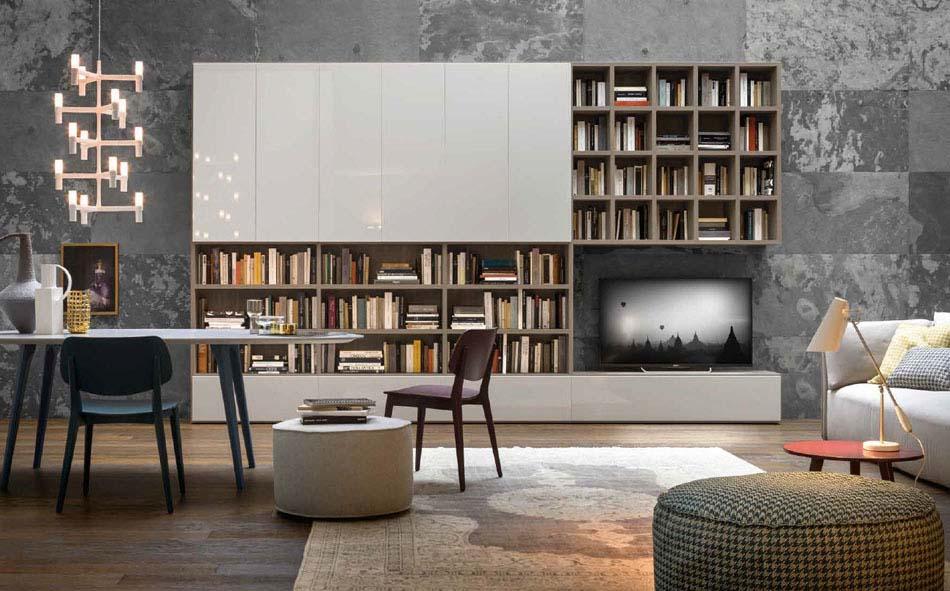 Novamobili Librerie Moderne Componibili – Toscana Arredamenti – 123