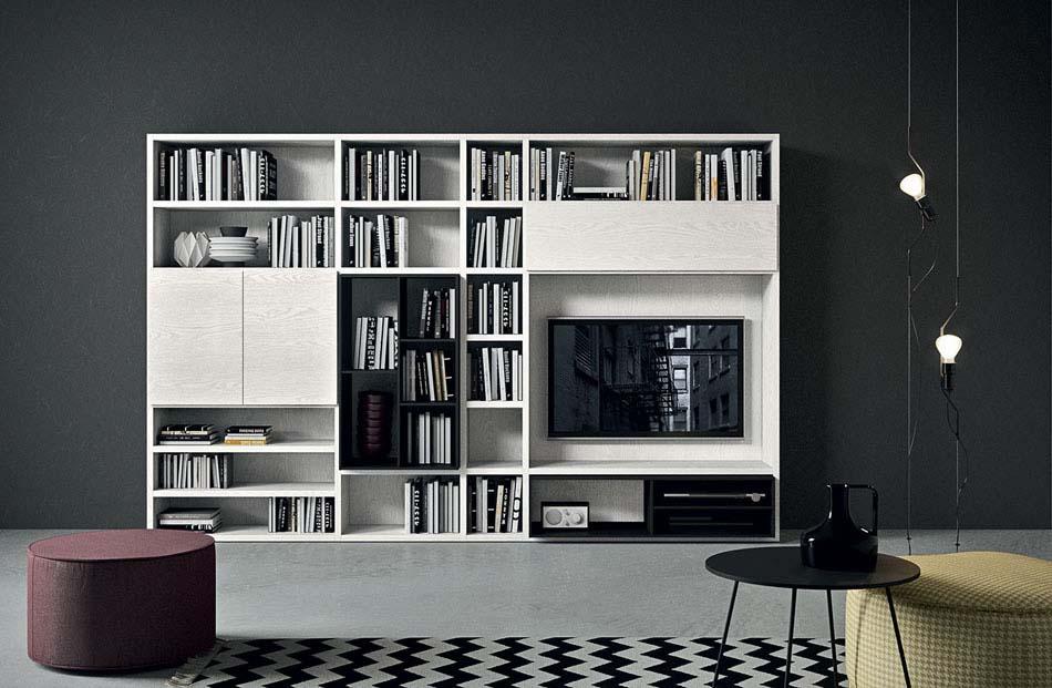 Novamobili Librerie Moderne Componibili – Toscana Arredamenti – 133