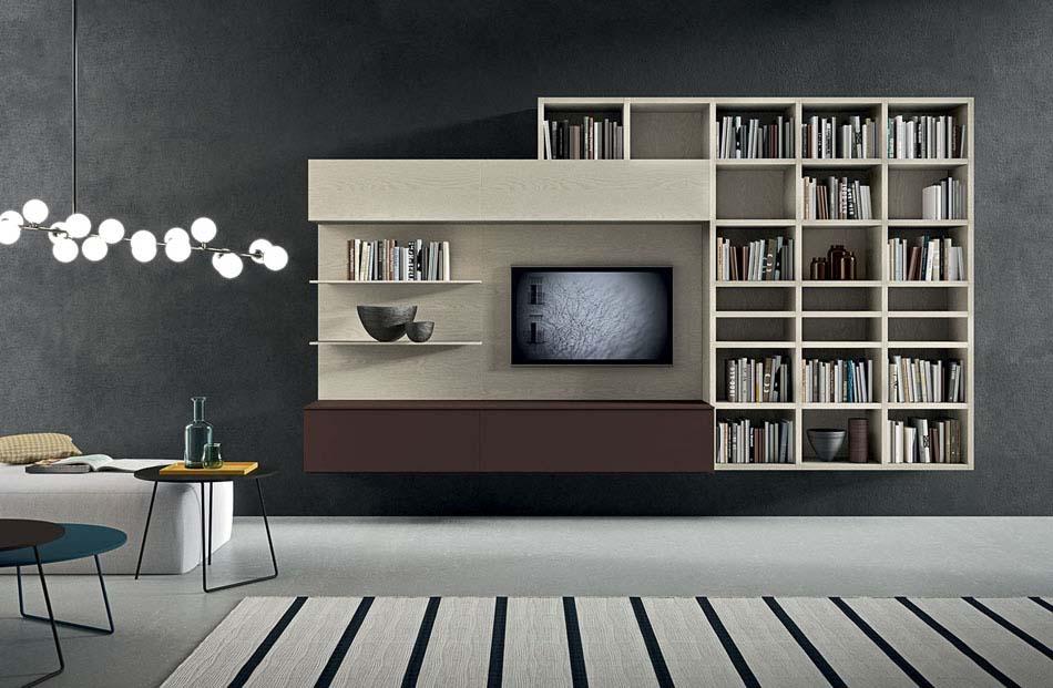 Novamobili Librerie Moderne Componibili – Toscana Arredamenti – 135