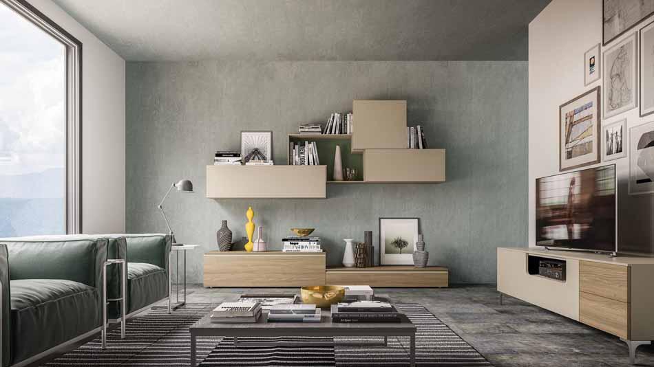Orme Living Componibile Moderno – Toscana Arredamenti – 101