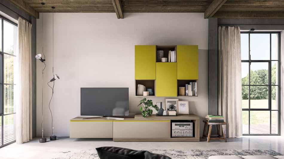 Orme Living Componibile Moderno – Toscana Arredamenti – 103