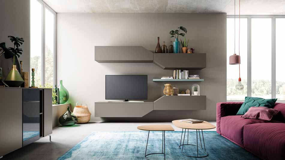 Orme Living Componibile Moderno – Toscana Arredamenti – 105