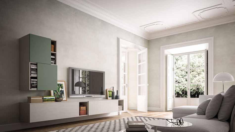 Orme Living Componibile Moderno – Toscana Arredamenti – 110