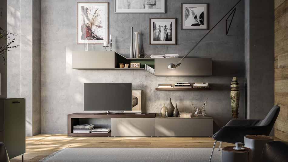 Orme Living Componibile Moderno – Toscana Arredamenti – 116
