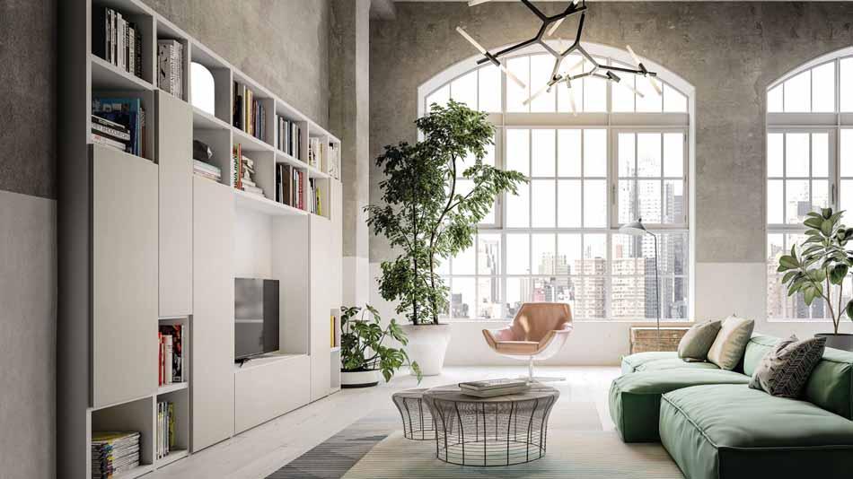 Orme Living Componibile Moderno – Toscana Arredamenti – 123
