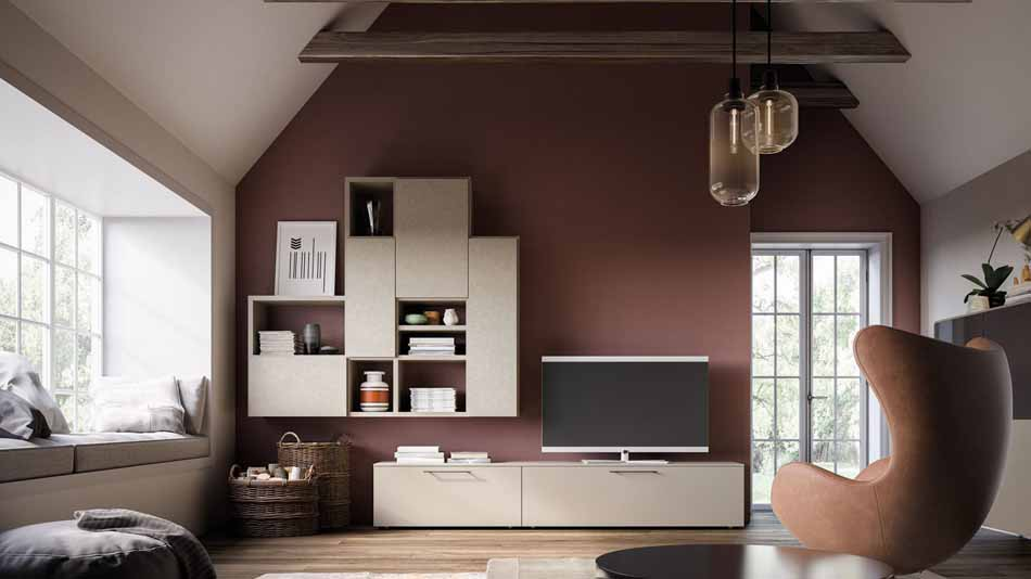 Orme Living Componibile Moderno – Toscana Arredamenti – 124