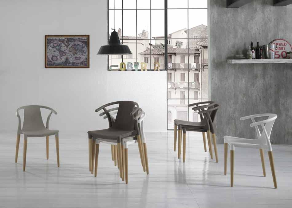 Zamagna Italia 14 Sedia Design – Firenze Arredament